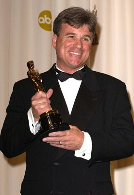 Conrad W. Hall accepts the Oscar on behalf of his late father, Conrad ...