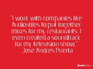 JOSE ANDRES PUERTA QUOTES