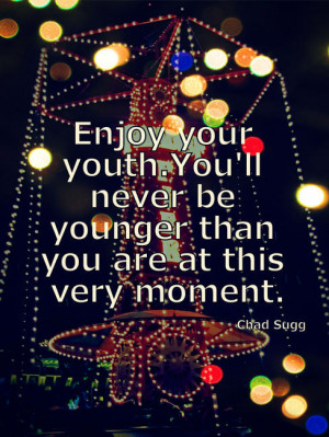 Being Young Quotes