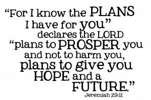 Commonly Misunderstood Bible Verses (CMBV) Jeremiah 29:11
