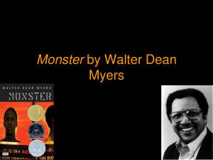 Monster Walter Dean Myers Quotes Monster walter dean myers