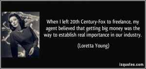 More Loretta Young Quotes