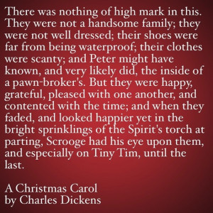 My Favorite Quotes from A Christmas Carol #30 – There was nothing of ...