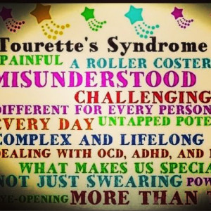 tourettes syndrome