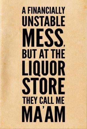 funny liquor store quotes