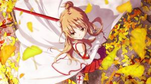 Asuna Yuki, Asuna's character in SAO