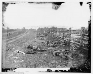 ... Civil War photographer shot in exact same spots 150 years after
