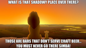 cat meme quote funny humor grumpy beer lion king disney wallpaper ...