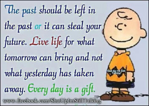 Charlie Brown on Living Life