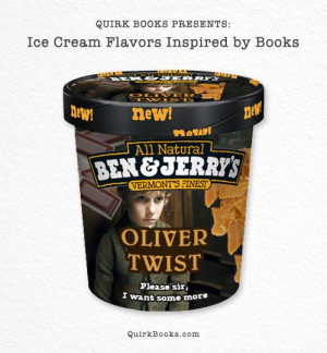 Oliver Twist | 6 Perfect Ice Cream Flavours For Book Lovers