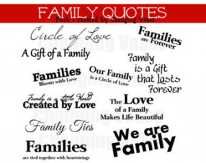 Family Quotes For Scrapbooking Children