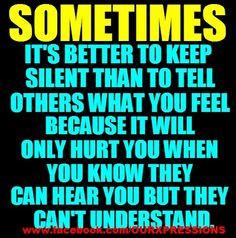 Nobody understand...