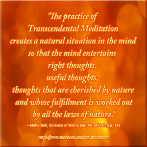 ... Transcendental Meditation® makes this easy and enjoyable :) Check TM