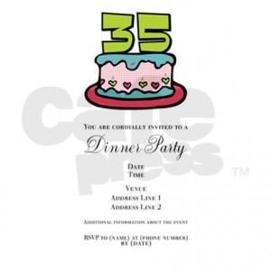 Birthday Invitations Unique