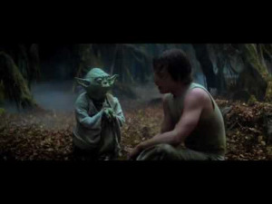 Yoda speaks English, but he speaks it with a different grammar than ...
