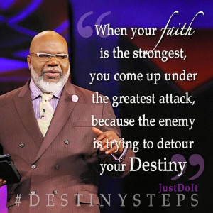 TD Jakes Potters House - Word for Today | Everyday Devotional