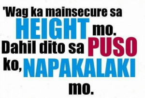 Puso Quotes , Insecure Quotes