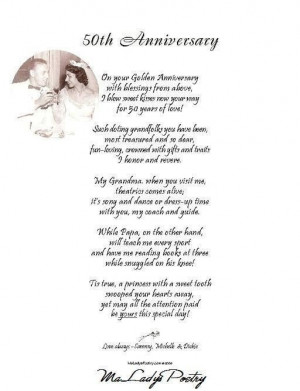 50th wedding anniversary quotes for grandparents