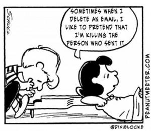 Random tweets in Peanuts cartoons LO frick'on L!!