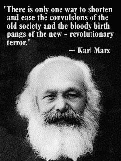 Marx's philosophy and the *necessity* of violent politics