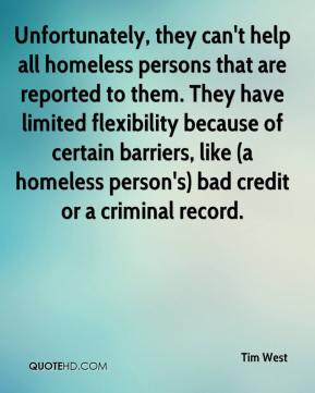 Homeless People Quotes