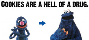 Funny photos funny cookie monster muppets