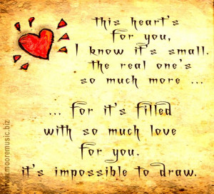 heavy heart quotes   sayings this heart is for you HI CONTRAST