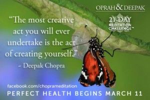 deepak+chopra+quotes+on+mindfulness | Meditation Decreases Depression ...