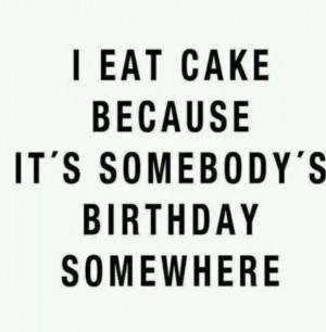 birthday, cake, funny, mind, quotes, First Set on Favim.com