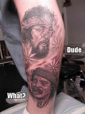 It's CHEECH & CHONG dude! @____@ If you seek for movies that'll ...