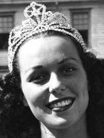 Bess Myerson, the first (and only?) Jewish Miss America, winning in in ...