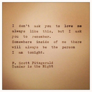 scott fitzgerald quotes