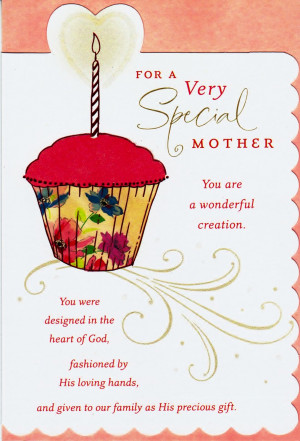 Inside, the card says: