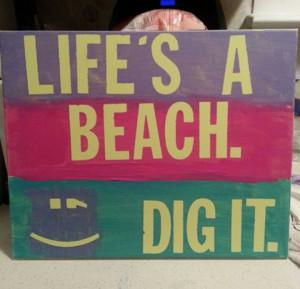 Beach house quote.