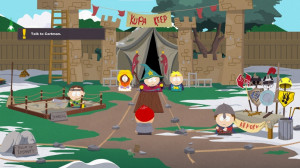The game's art style makes it indistinguishable from the cutscenes and ...