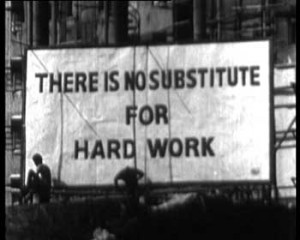 Defining Hard Work in Real Terms