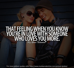 That Feeling When You Know You´re In Love With Someone Who Loves You ...