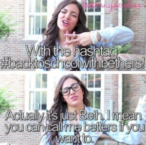 Bethany Mota quotes | Pinned by Kate W