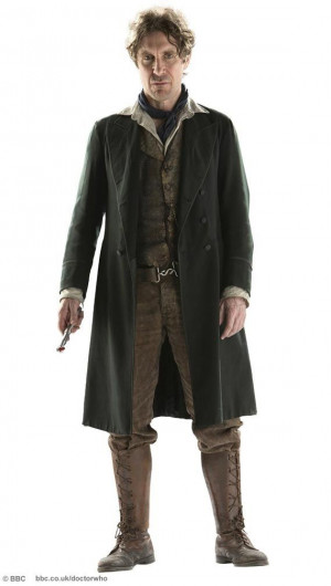 Paul McGann, 8th Doctor in all his glory, returned for the 50th ...