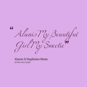 Alanis My Beautiful Girl My Sweetie Sissy Blair