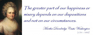 Back > Gallery For > Martha Washington Quotes