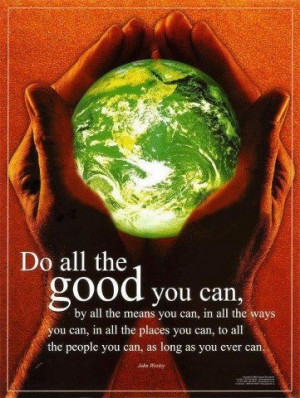 Do good all year round!