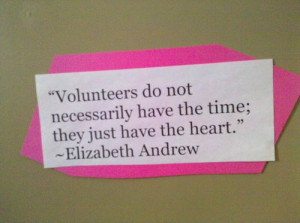 volunteerism quotes