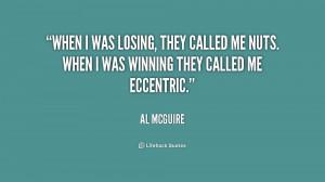 Al McGuire Quotes