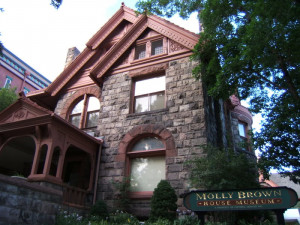 Molly Brown's House in Capitol Hill, yet another museum in the area ...