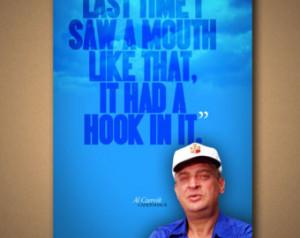 CADDYSHACK Al Czervik Quote Poster