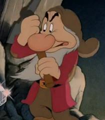 Snow White Grumpy