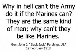 Top ten quotes about the US Marine Corps