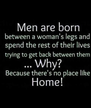 Men just want to go home!