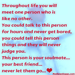 life you will meet one person real life quotes real friendship quotes ...